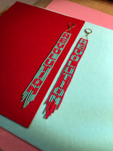 Load image into Gallery viewer, REVOLUTION Beaded Fringe Earrings