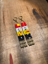 Load image into Gallery viewer, LAND BACK Fringe Earrings