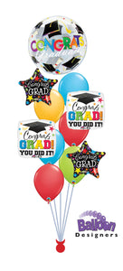Graduation Celebration Balloon Bouquet
