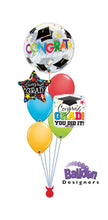 Load image into Gallery viewer, Graduation Celebration Balloon Bouquet