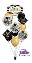 Load image into Gallery viewer, Classy Tassel Graduation Balloon Bouquet