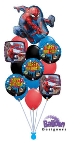 Spiderman Birthday Bouquet