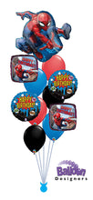 Load image into Gallery viewer, Spiderman Birthday Bouquet