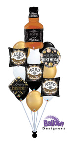 Aged to Perfection Balloon Bouquet