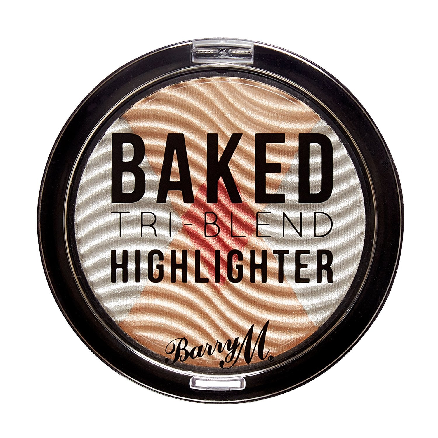 Baked Tri-Blend Highlighter Silver Solstice