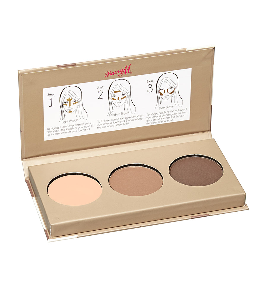 Chisel Cheeks Contour Kit Medium - Dark
