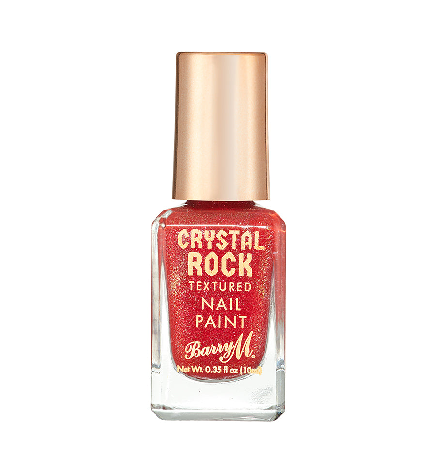 Crystal Rock Textured Nail Paint Red Jasper
