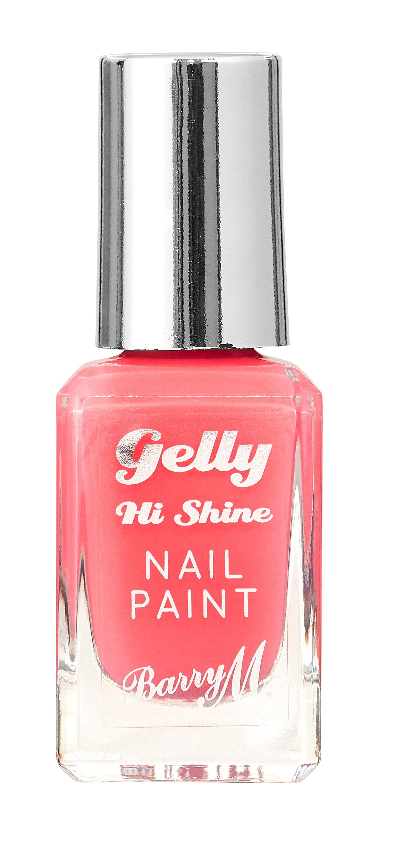 Gelly Hi Shine Nail Paint Pink Grapefruit