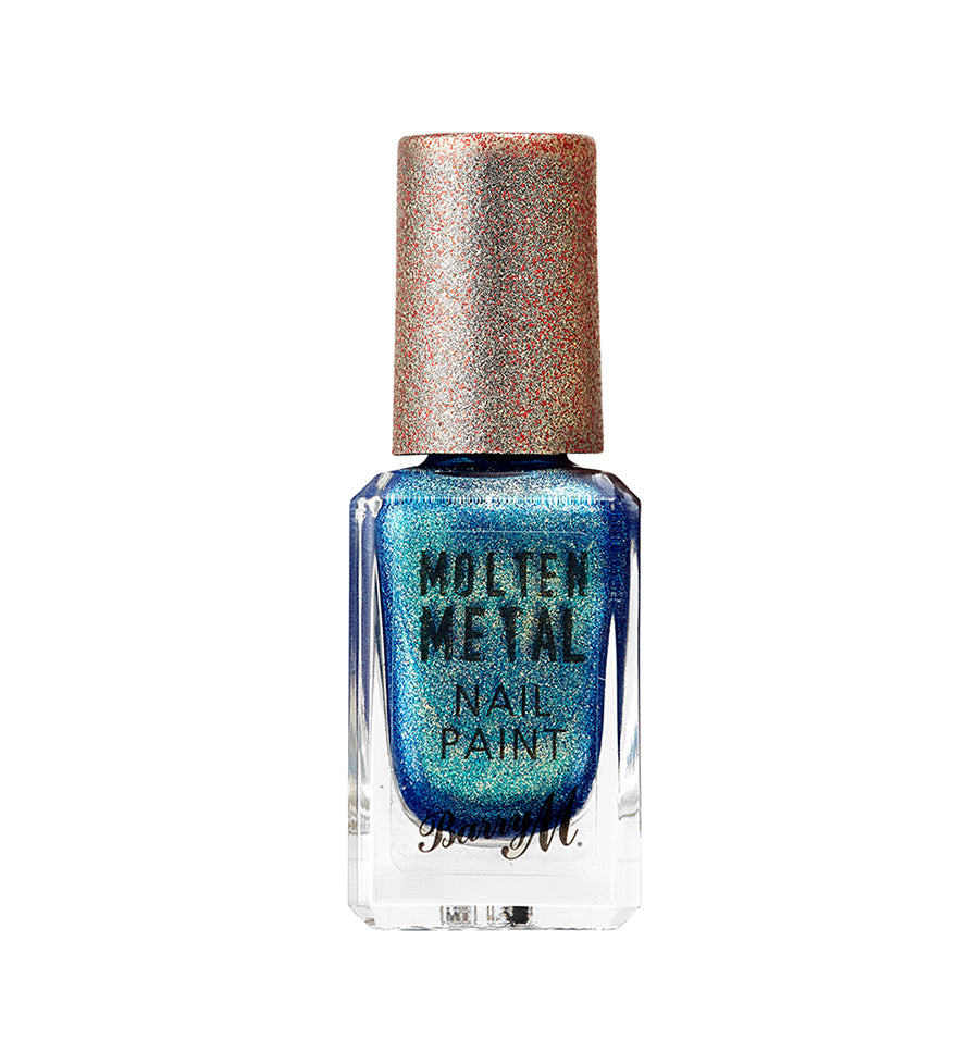 Molten Metals Crystal Blue