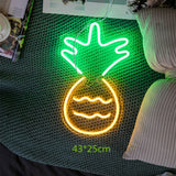 Pineapple Neon Wall Sign