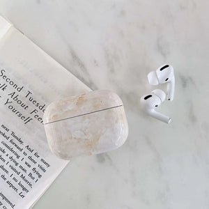 Sand Marble Airpod Pro Case