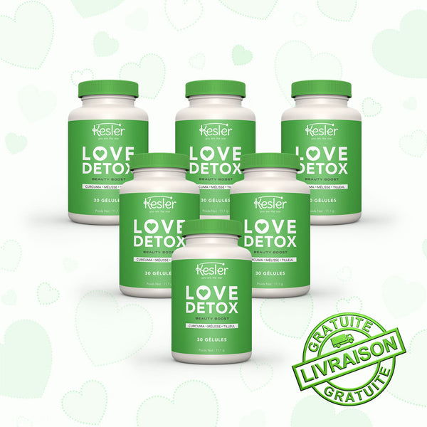 LOVE DETOX - BEAUTY BOOST 6 MOIS
