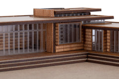 Wright Jacobs House model