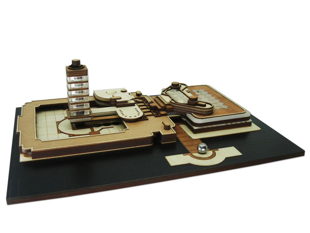 S. C. Johnson Wax Complex, scale model kit, Frank Lloyd Wright, FLW