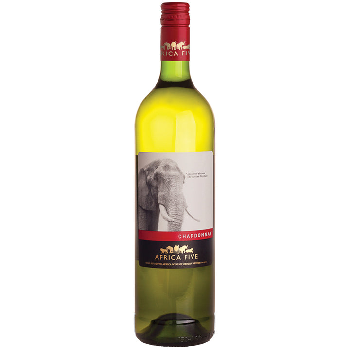Stellenview Wine's Africa Five Chardonnay (2019) with its inviting citrus and lime notes (– Robertson origin delivers the minerality as expected). Lively acid and fresh aromas make this a perfect companion to a salad and/or fish dish.