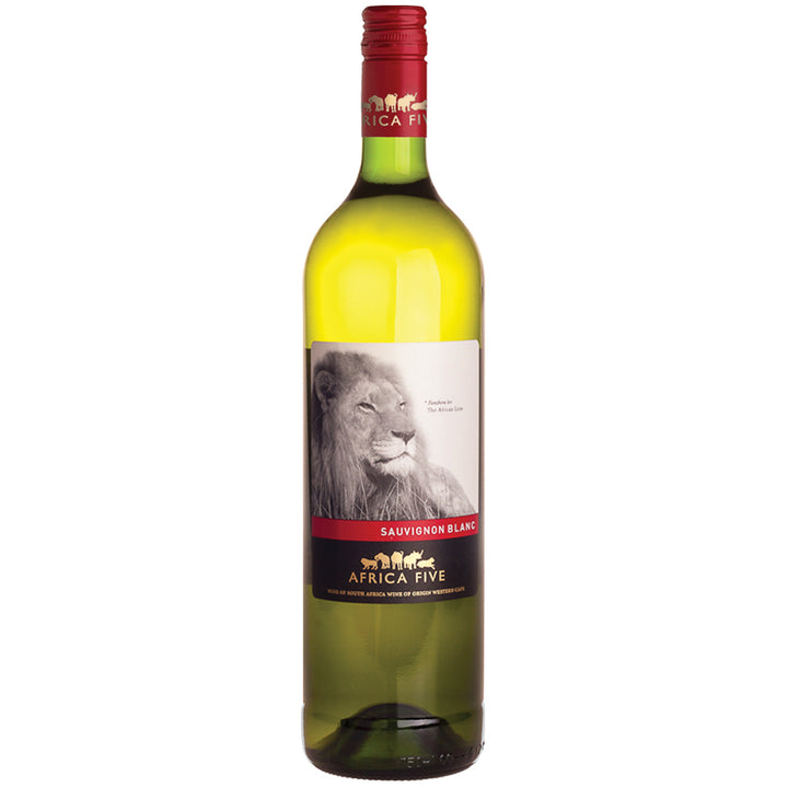 Stellenview Wine's Africa Five Sauvignon Blanc (2019) the abundant with aroma. Quench your pallete with the ripenes of summer fruitiness. This well balanced wine is refreshing with an acidity and mouth filling viscosity.