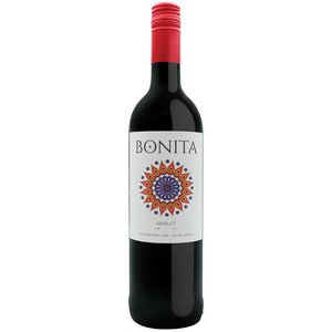 Stellenview Wine's Bonita Merlot (2018). This beautiful ruby-coloured wine  iwht a fresh herbal twist adds freshness to a rich bouquet of red berry aromas and charm. The ripe fruity flavours on entry with raisins. Is a light wine for easy-drinking.