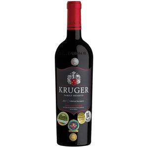 Kruger Family Reserve Cabernet Sauvignon 2017 - pricing per case of 6 x 750ml