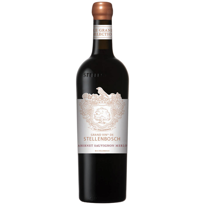 GRAND VIN DE STELLENBOSCH CABERNET SAUVIGNON - MERLOT 2017 - PRICING PER CASE OF 6 X 750ML