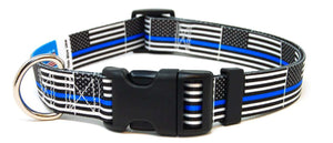 Thin Blue Line Flag - Collar