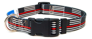 Thin Red Line Flag - Collar