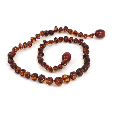 Momma Goose Baltic Amber Child Necklace