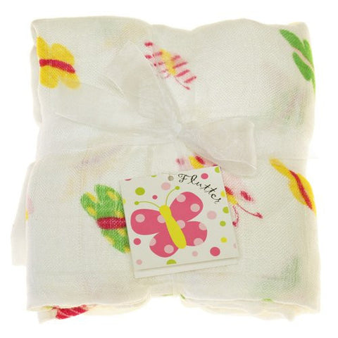 Imagine Bamboo Swaddling Blanket- Flutter