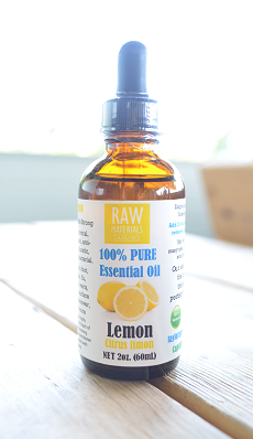 RAW by Taylors Lemon Essential Oil Large