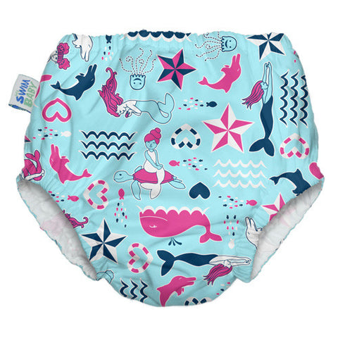 New Swim Diaper - Little Mermaids
