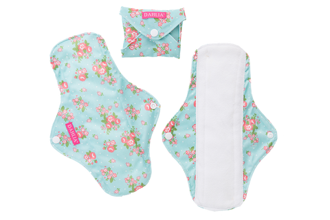 Dahlia Cloth Feminine Pads by Buttons