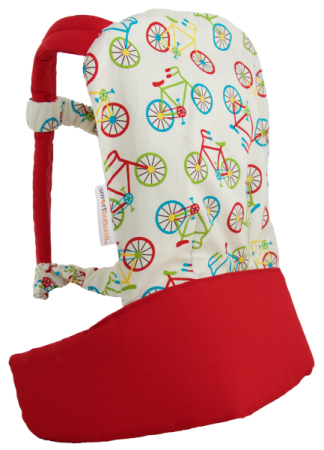 Smart Bottoms Doll Carrier- Bikes