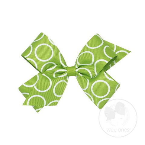 Wee Ones Hula Bow Apple Green