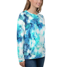 Load image into Gallery viewer, Unisex Tie Dye Sweatshirt Multi-Blue (Beisel)