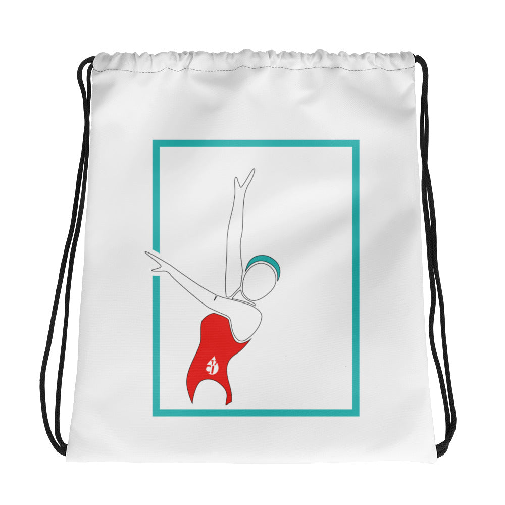 Synchro and Artistic Swimming Drawstring Bag