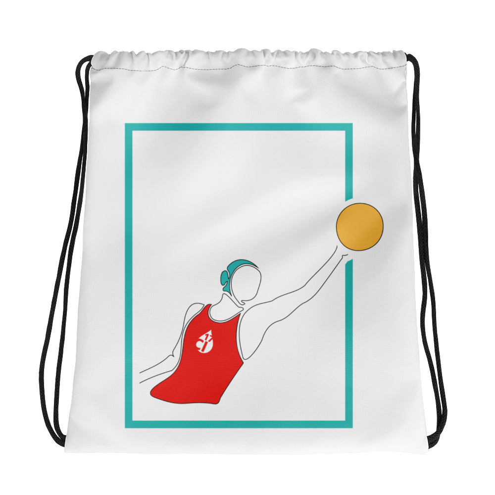 Female Water Polo Drawstring Bag