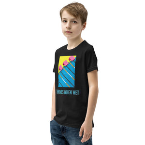 Thrives When Wet Youth Short Sleeve T-Shirt