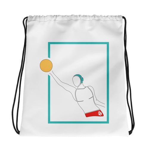 Male Water Polo Drawstring Bag