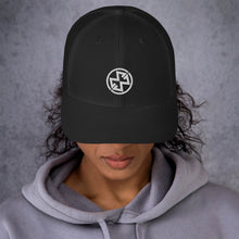 Load image into Gallery viewer, Trucker Cap - Black (Maddie)