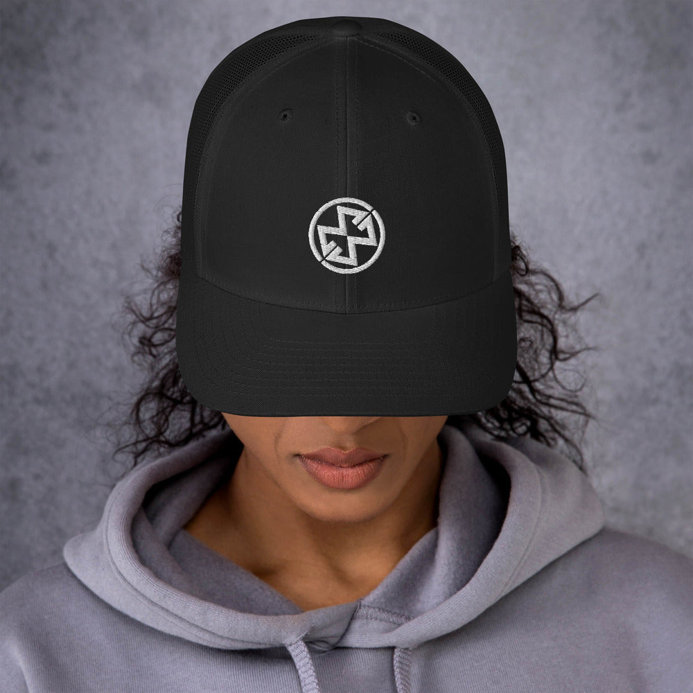 Trucker Cap - Black (Maddie)