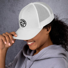 Load image into Gallery viewer, Trucker Cap - White (Maddie)