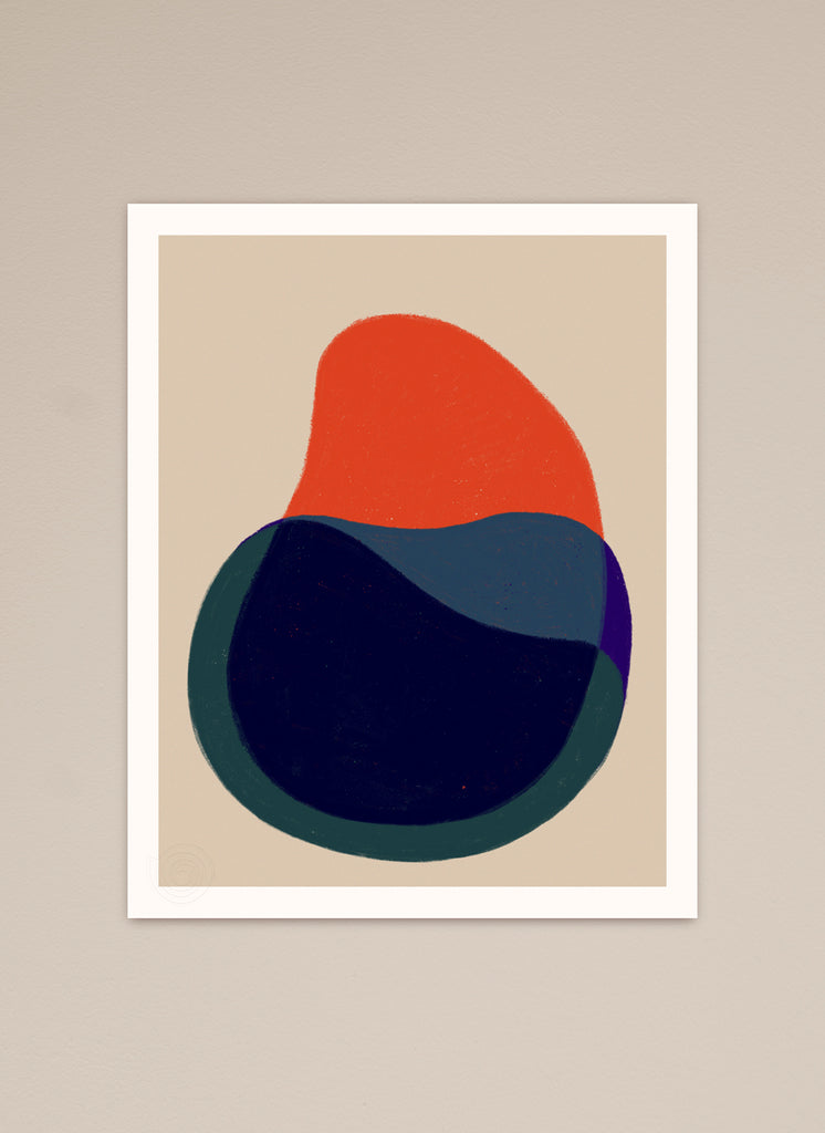 Abstract fine art print
