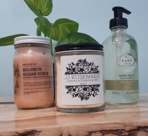 Scrub + Bath + Soap Bundle 2