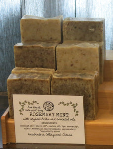 Rosemary Mint Botanical Body Soap Bar