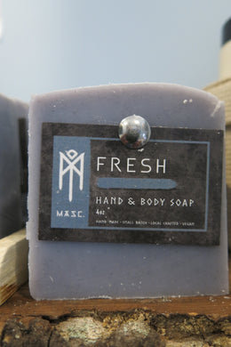 Men's Hand and Body Soap Bar - Fresh