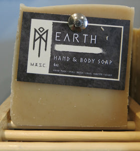 Men's Hand and Body Soap Bar - Earth