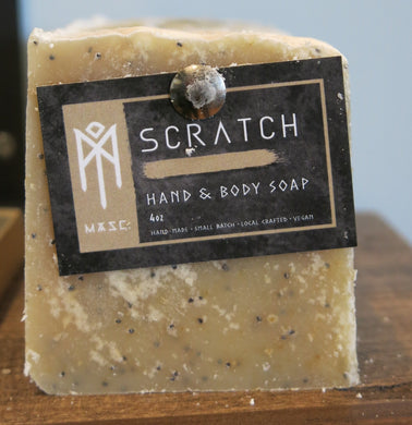 Men's Hand and Body Soap Bar - Scratch