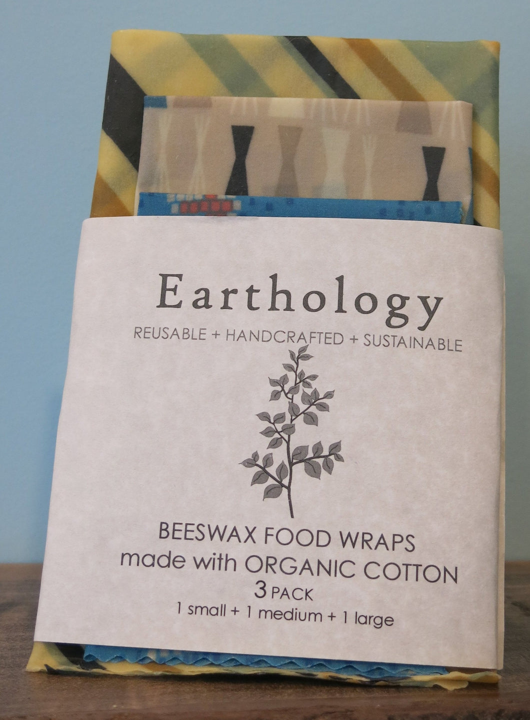 3 Pack Beeswax Wraps