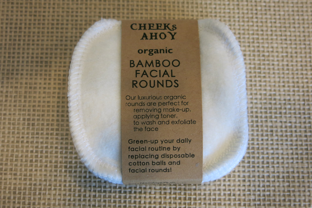 Bamboo Facial Rounds 8 Pack
