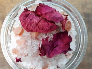 Rose Petal Salt Bath