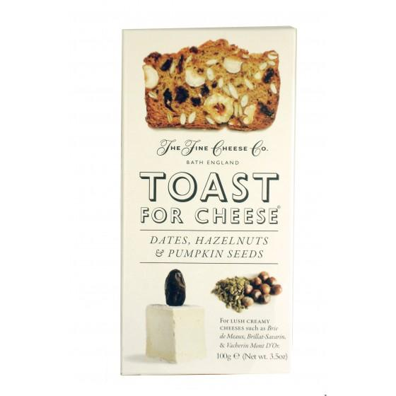Fine Cheese Toast Datiles 100 gr, The Fine Cheese